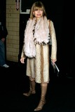 Anne McNally Photo - Anne Mcnally at Marc Jacobs Showing of Fall Collection at NY State Armory in New York City on February 9 2004 Photo by Henry McgeeGlobe Photos Inc 2004