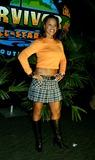 Alicia Calaway Photo - Survivor Allstars Castaways Madison Square Garden New York City 05092004 Photo Henry Mcgee  Globe Photos Inc 2004 Alicia Calaway