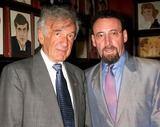 ANTONY SHER Photo - Elie Wiesel and Sir Antony Sher at the Opening Night Party For the Broadway Production of Primo at Sardis in New York City on 07-11-2005 Photo by Henry McgeeGlobe Photos Inc 2005