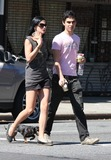Anthony Minghella Photo - NYC  090108EXCLUSIVE Actor Max Minghella (son of the late British director Anthony Minghella) and girlfriend Leigh Lezark (of  the MisShapes) walking their dog on the Lower East Side on Labor DayDigital Photo by Adam Nemser-PHOTOlinknet