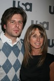 James Roday Photo - NYC  032608James Roday (Psych) and Bonnie Hammer (President USA Network) USA NETWORK 2008 Upfront Party at The ModernDigital Photo by Adam Nemser-PHOTOlinknet