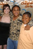 CHEETAHS GIRLS Photo - NYC  080503Anneliese van der Pol Orlando Brown and Kyle Orlando Massey (cast of THATS SO RAVEN) at the premiere of the new Disney Channel Original Movie THE CHEETAH GIRLS at LaGuardia High SchoolDigital Photo by Adam NemserPHOTOlink