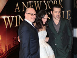 Akiva Goldsman Photo - Feb 13 2014 - London England UK - UK Premiere of A New York Winters Tale at the Odeon Cinema at Kensington High Street in London Pictured Akiva Goldsman Jessica Brown Findlay and Colin Farrell