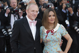 Salma Hayek Photo - CANNES FRANCE - MAY 23 Francois- Henri Pinault and Salma Hayek attend the 70th Anniversary screening during the 70th annual Cannes Film Festival at Palais des Festivals on May 23 2017 in Cannes France (Photo by Laurent KoffelImageCollectcom)