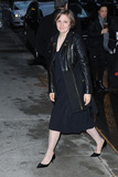 Lena Dunham Photo - January 6 2014 New York CityLena Dunham arriving to tape an appearance on the Late Show with David Letterman on January 6 2014 in New York City