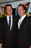 Geoffrey Rush Photo - NEW YORK NOVEMBER 19 2004    Stephen Hopkins and Geoffrey Rush at the premiere of The Life and Death of Peter Sellers