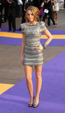 Hannah Montana Photo - Actress Miley Cyrus at the UK film premiere of Hannah Montana The Movie at the Odeon West End on April 23 2009  in London