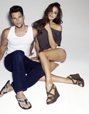 Arthur Sales Photo - Models Irina Shayk (L) and Arthur Sales promote Xti shoes  in Madrid Spain
