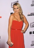 Christine Taylor Photo - Christine Taylor at the 26th Annual American Cinematheque Awards Ceremony honoring her husband Ben Stiller at the Beverly Hilton HotelNovember 15 2012  Beverly Hills CAPicture Paul Smith  Featureflash