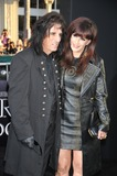 Alice Cooper_guest Photo - Musician Alice Cooper and guest arrive at the premiere of Warner Bros Pictures Dark Shadows at Graumans Chinese Theatre