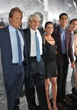 Dev Patel Photo - Jeff Daniels (left) Sam Waterston Olivia Munn  Dev Patel at the season two premiere of HBOs The Newsroom at Paramount Studios HollywoodJuly 10 2013  Los Angeles CAPicture Paul Smith  Featureflash