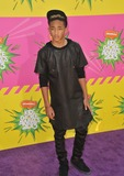 Jada Pinkett-Smith Photo - Jaden Smith son of Will Smith  Jada Pinkett Smith at Nickelodeons 26th Annual Kids Choice Awards at the Galen Centre Los AngelesMarch 23 2013  Los Angeles CAPicture Paul Smith  Featureflash