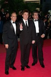 Alain Chabat Photo - Producer JEFFREY KATZENBERG (left) actor MIKE MYERS  director ALAIN CHABAT at the premiere of their movie Shrek at the Cannes Film Festival12MAY2001  Paul SmithFeatureflash