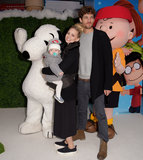 Charlie Brown Photo - London UK  Kimberley Wyatt Max Rogers and Willow  at The UK Gala Screening of Snoopy and Charlie Brown at  The Peanuts Movie at Vue West End Leicester Square London on Saturday 28 November 2015Ref LMK392-58951-291115Vivienne VincentLandmark Media WWWLMKMEDIACOM