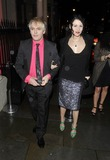 Jimmy Choo Photo - London UK  Nick Rhodes  and guest    at the  Jimmy Choo hosts dinner in honour of artist Rob Pruitt at No 35 Belgrave Square London 11th October 2012 Keith MayhewLandmark Media