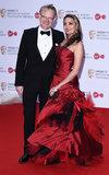 Allegra Riggio Photo - London UK  Jared Harris and Allegra Riggio at The Virgin TV British Academy (BAFTA) Television Awards 2017 held at The Royal Festival Hall Belvedere Road London on Sunday 14 May 2017Ref LMK392-J277-150517Vivienne VincentLandmark Media WWWLMKMEDIACOM