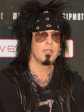 Motley Crue Photo - London UK  Nikki Sixx at the last ever European press conference for Motley Crue at Law Society on June 9 2015 in London EnglandRef LMK73-51440-090615Keith MayhewLandmark Media WWWLMKMEDIACOM