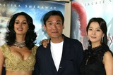 Tony Leung Photo - Cannes France Kim Hee-Seon Tony Leung Ka fai and Mallika Sherawat at the photocall for the movie THE MYTH at the Cannes Film Festival17 May 2005Jenny RobertsLandmark Media