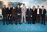 Tom Holland Photo - London UK Edward Ashley Tom Holland Ben Walker Chris Hemsworth Ron Howard Charlotte Riley and Cillian Murphy at  In The Heart Of The Sea - European Premiere at Empire Leicester Square London UK 02 December 2015 Ref LMK73-58709-031215Keith MayhewLandmark Media WWWLMKMEDIACOM