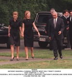 Lee Radziwill Photo - Anthony Radziwill Funeral Service Most Holy Trinity Church East Hampton Li (813) Lee Radziwill with Daughter in Law Carole Radziwill (anthonys Widow) and Herb Ross Globe Photos Inc
