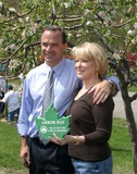 Adrian Benepe Photo - Bette Midler  Marcia Gay Harden  Brendan James  Blue Man Group Help Celebrate Arbor Day and Milliontrees NYC by Planting Trees in Mccarren Park in Brooklyn Bruce Cotler 2008 4-25-08 NYC Parks Commisoner Adrian Benepe  Bette Midler