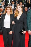 Julie Gayet Photo - Lisa Azuelos Julie Gayet Saint-laurent Premiere Cannes Film Festival 2014 Cannes France May 17 2014 Roger Harvey