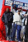 Ahmad Bradshaw Photo - Ahmad Bradshaw at NY Giants Super Bow Champions Ticker -Tape Parade Lower NY March Up Broadway to City Hall 2-7-2012 Photo by John BarrettGlobe Photos Inc