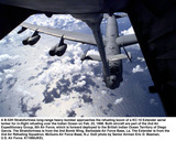 DIEGO GARCIA Photo - 980223-F-1206B-001A B-52H Stratofortress long-range heavy bomber approaches the refueling boom of a KC-10 Extender aerial tanker for in-flight refueling over the Indian Ocean on Feb 23 1998  Both aircraft are part of the 2nd Air Expeditionary Group 8th Air Force which is forward deployed to the British Indian Ocean Territory of Diego Garcia  The Stratofortress is from the 2nd Bomb Wing Barksdale Air Force Base La  The Extender is from the 2nd Air Refueling Squadron McGuire Air Force Base NJ  DoD photo by Senior Airman Eric D Beaman US Air Force