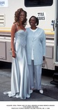Train Photo -  Soul Train Lady of Soul Awards in Santa Monica 080695 Tyra Banks and Mom Photo by Fitzroy BarrettGlobe Photos Inc
