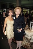 Susan Lucci Photo - Susan Lucci with Agnes Nixon Tiffany Fall Table Setting Show at Museum of Tv and Radio in New York City 1998 K13319jbu Photo by Judie Burstein-Globe Photos Inc