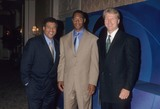 Greg Gumbel Photo - Greg Gumbel with Marcus Allen and Phil Simms at Tca Press Wour Cbs 1998 K12802lr Photo by Lisa Rose-Globe Photos Inc