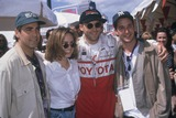 Anthony Edwards Photo - Sherry Stringfield with George Clooney  Anthony Edwards and Noah Wyle at Toyotas Spro Celeb Race 1995 K1212fb Photo by Fitzroy Barrett-Globe Photos Inc