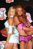 Traci Bingham Photo - - Angie Everhart Nikki Ziering and Traci Bingham Unveils Plans For Lingerie Bowl 2004 - Quixote Studios West Hollywood CA - 06252003 - Photo by Ed Geller  Egi  Globe Photos Inc 2003 - Nikki Ziering and Angie Everhart