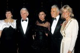 John Forsythe Photo - Esther Shapire Aaron Spelling Diahann Carroll John Forsythe and Linda Evans 1984 13180 Photo by Phil RoachipolGlobe Photos Inc