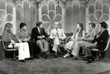 Jamie Farr Photo - The Mike Douglas Show Leif Garrett Franco Columbo Mike Douglas Percy Ross Efrem Zimbalist Jr with Daughtre Stephanie and Jamie Farr Credit Globe Photos Inc Mikedouglasretro