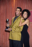 Victoria Rowell Photo - Kristoff St John with Victoria Rowell at Naacp Awards 1994 L7311lr Photo by Lisa Rose-Globe Photos Inc
