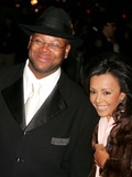 Jimmy Jam Photo - Star Jones and AL Reynolds Wedding Arrivals at St Bartholomews Church in New York City 11132004 Photo by Rick MacklerrangefinderGlobe Photos Inc Jimmy Jam