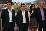 Zoe Saldana Photo - Actor Clive Owen (l-r) Director Guillaume Canet Actors Zoe Saldana and Noah Emmerich Attend the Photocall of Blood Ties During the the 66th Cannes International Film Festival at Palais Des Festivals in Cannes France on 20 May 2013 Photo Alec Michael Photo by Alec Michael- Globe Photos Inc