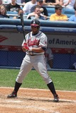 Andruw Jones Photo - Yankees Vs Braves at Yankee Stadiumdate 06-28-06 Photo by John Barrett-Globe Photosinc Andruw Jones