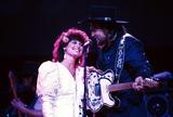 Waylon Jennings Photo - Jesse Colter with Waylon Jennings Photo by Adam ScullrangefindersGlobe Photos Inc