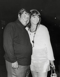 Buddy Hackett Photo - Buddy Hackett and Wife Sherry at Laugh-in Party at Factory Photo by Phil RoachipolGlobe Photos Inc Buddyhackettretro