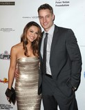 Justin Hartley Photo - Chrishell Stause Justin Hartley attending the 14th Annual Eagle and Badge Foundation Gala Held at the Hyatt Regency Plaza Hotel in Los Angeles California on October 17 2015 Photo by David Longendyke-Globe Photos Inc