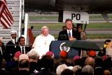 John Paul Photo - Pope John Paul Ii and President Bill Clinton 1995 1990s K2729bco Bruce CotlerGlobe Photos Inc
