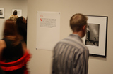 Arnold Newman Photo - Opening of the Exhibitionarnold Newman Masterclass at the Harry Ransom Center at the University of Texas at Austin02152013patrons in Gallery Photo by Jeff Newman- Globe Photos Inc