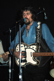 Waylon Jennings Photo - the Bottom Line NYC Waylon Jennings Photo by Robert FitzgeraldGlobe Photos Inc