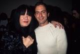 Anna Sui Photo - Anna Sui with Marc Jacobs at Kate Moss Book Party 1995 K2541rh Photo by Rose Hartman-Globe Photos Inc