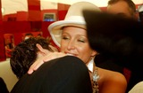 Rob Mills Photo - Rob Mills (Australian Idol Reject) Kisses Paris Hilton -Attend the Melbourne Cup 2003 in Melbourne Australia 1142003 Photo Bydave MorganalphaGlobe Photos Inc 2003