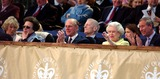 Lady Sarah Chatto Photo - Alpha 048063 010602 the Queen and Prince Philip Are Joined by From Left Camilla Parker Bowles Princess Anne Sir Angus Ogilvy Lady Sarah Chatto and Prince Charles -Prom at the Palace Concert Held at Buckingham Palace AlphaGlobe Photos Inc