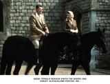 Ronald Reagan Photo -  Ronald Reagan Visits the Queen 1982 Credit Alpha  Globe Photos Inc