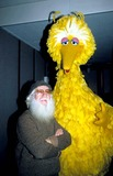 Big Bird Photo - Big Bird Photo Hy Simon  Globe Photos Inc 1970sretro